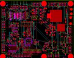 CAD capture of mixed technology, multi-layer, fine pitch PCB